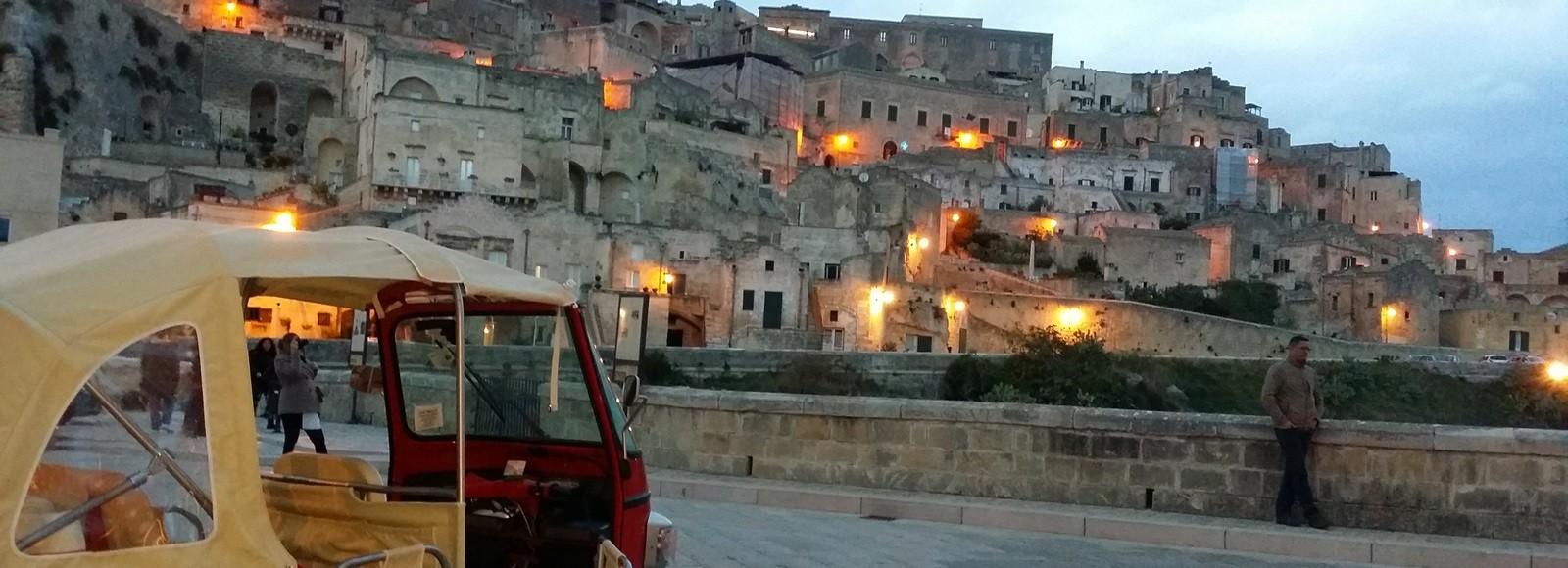 tour in Ape Piaggio