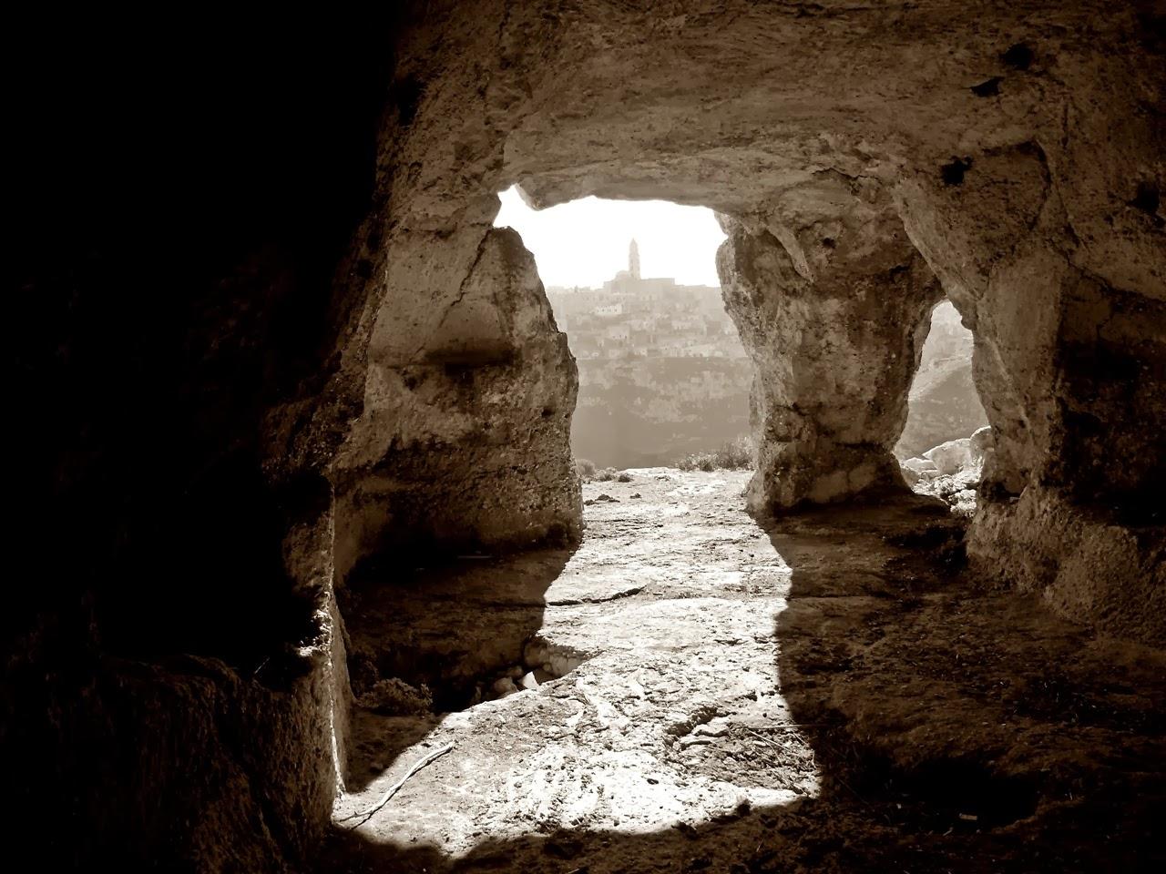 le grotte della murgia di matera