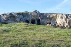 chiese rupestri sul belvedere