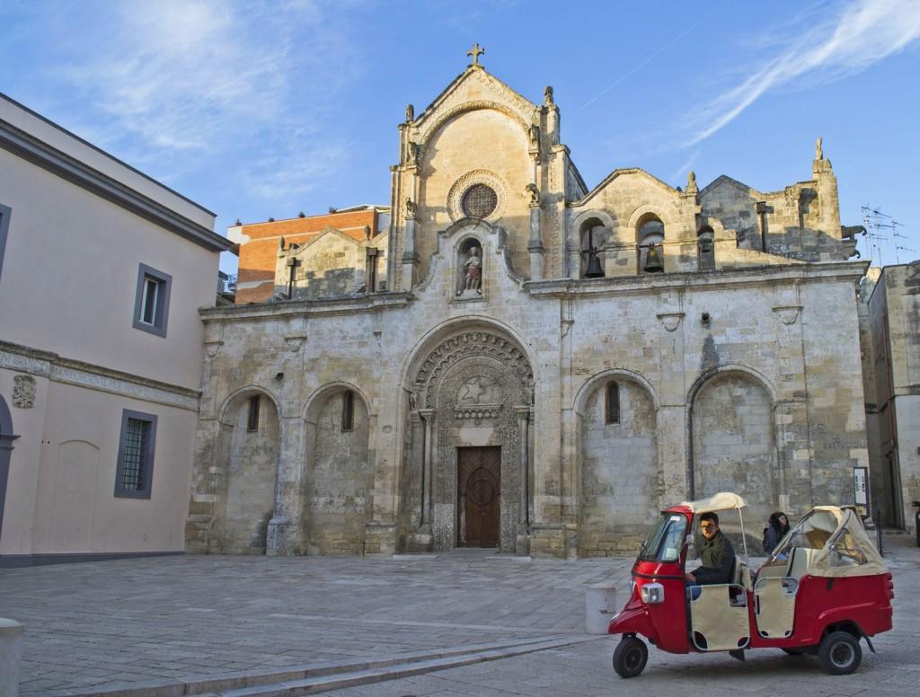 chiesa san giovanni nel centro storico di matera
