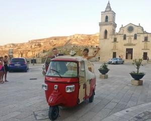 Matrimonio in Ape Vito Calessino