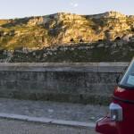 Ape Vito Calessino: panorama Murgia materana