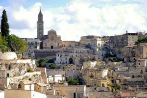 Matera, panorama e Cattedrale