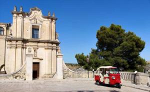 Ape tour Matera: Chiesa di Sant'Agostino