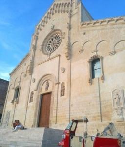 Ape tour in Ape Calessino: Cattedrale di Matera