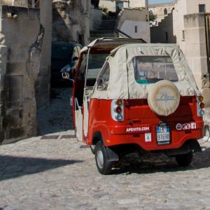 Ape tour dei Sassi di Matera